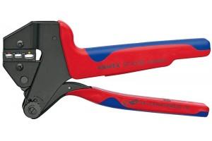 Пресс-клещи Knipex 97 43 06, системные, двухкомпонентные ручки, 0, 5 - 6, 0 mm², 200 mm, KN-974306