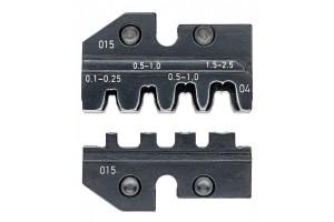 Матрицы опрессовочные и направляющие Knipex 97 49 04, для системных опрессовочных инструментов, KN-974904