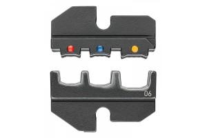 Матрицы опрессовочные и направляющие Knipex 97 49 06, для системных опрессовочных инструментов, KN-974906
