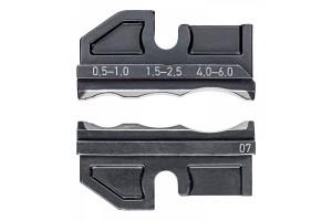 Матрицы опрессовочные и направляющие Knipex 97 49 07, для системных опрессовочных инструментов, KN-974907