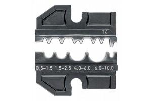Матрицы опрессовочные и направляющие Knipex 97 49 14, для системных опрессовочных инструментов, KN-974914