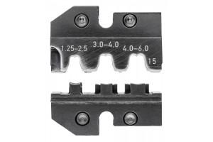 Матрицы опрессовочные и направляющие Knipex 97 49 15, для системных опрессовочных инструментов, KN-974915