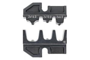 Матрицы опрессовочные и направляющие Knipex 97 49 18, для системных опрессовочных инструментов, KN-974918