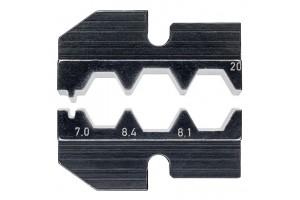 Матрицы опрессовочные и направляющие Knipex 97 49 20, для системных опрессовочных инструментов, KN-974920