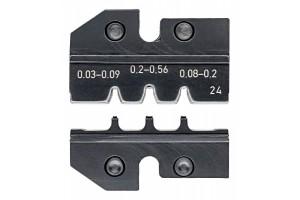 Матрицы опрессовочные и направляющие Knipex 97 49 24, для системных опрессовочных инструментов, KN-974924