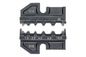 Матрицы опрессовочные и направляющие Knipex 97 49 30, для системных опрессовочных инструментов, KN-974930