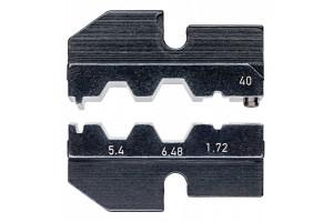 Матрицы опрессовочные и направляющие Knipex 97 49 40, для системных опрессовочных инструментов, KN-974940