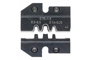 Матрицы опрессовочные и направляющие Knipex 97 49 44, для системных опрессовочных инструментов, KN-974944