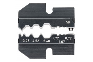 Матрицы опрессовочные и направляющие Knipex 97 49 50, для системных опрессовочных инструментов, KN-974950