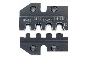 Матрицы опрессовочные и направляющие Knipex 97 49 54, для системных опрессовочных инструментов, KN-974954