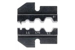 Матрицы опрессовочные и направляющие Knipex 97 49 81, для системных опрессовочных инструментов, KN-974981