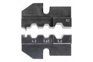 Матрицы опрессовочные и направляющие Knipex 97 49 83, для системных опрессовочных инструментов, KN-974983