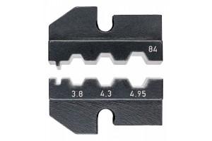 Матрицы опрессовочные и направляющие Knipex 97 49 84, для системных опрессовочных инструментов, KN-974984