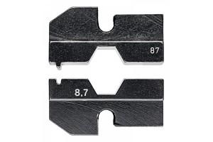 Матрицы опрессовочные и направляющие Knipex 97 49 87, для системных опрессовочных инструментов, KN-974987