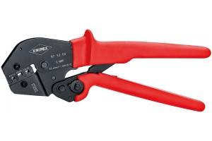 Пресс-клещи Knipex 97 52 05, рычажные, вороненые, 0, 5 - 6, 0 mm², 250 mm, KN-975205