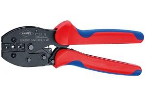 Пресс-клещи Knipex 97 52 35, PreciForce, вороненые, 0, 5 - 6, 0 mm², 220 mm, KN-975235