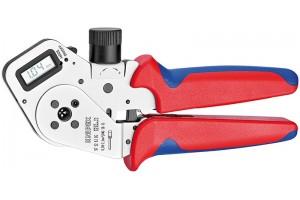 Пресс-клещи Knipex 97 52 63 DG, для тетрагональной опрессовки контактов 0, 08 - 2, 5 mm², 195 mm, KN-975263DG