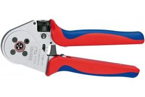 Пресс-клещи Knipex 97 52 65, для тетрагональной опрессовки контактов 0, 14 - 6, 0 mm², 230 mm, KN-975265