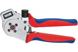 Пресс-клещи Knipex 97 52 65 DG, для тетрагональной опрессовки контактов 0, 14 - 6, 0 mm², 250 mm, KN-975265DG