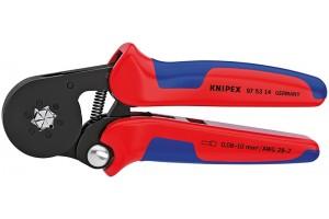 Пресс-клещи Knipex 97 53 14, автоматические, гексагональный обжим, 0, 08 - 10 mm², 180 mm, KN-975314