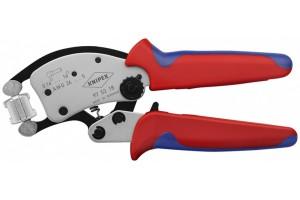 Пресс-клещи Knipex 97 53 18, Twistor 16, с вращающейся плашкой, 0, 14 - 16, 0 mm², 200 mm, KN-975318