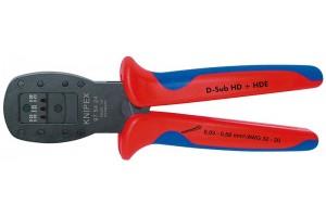 Обжимные клещи для миниатюрных штекеров, параллельный обжим Knipex 97 54 24, 97 54 24 KN-975424 / KN-975424, KN-975424