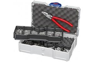 Набор контактных гильз Knipex 97 90 05, с инструментом для опрессовки, KN-979005
