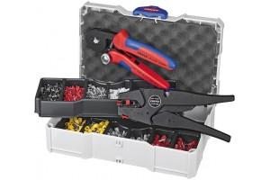 Набор контактных гильз Knipex 97 90 10, с инструментом для опрессовки, KN-979010