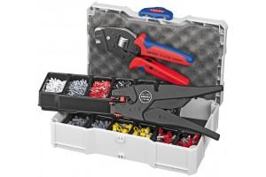 Набор контактных гильз Knipex 97 90 12, с инструментом для опрессовки, KN-979012