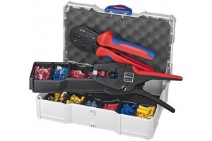 Набор кабельных наконечников Knipex 97 90 22, с инструментом для опрессовки, KN-979022