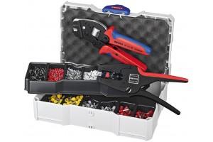 Набор контактных гильз Knipex 97 90 24, с инструментом для опрессовки, KN-979024