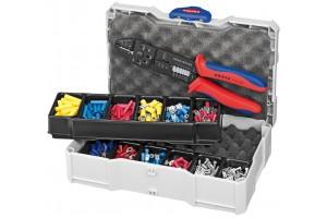 Набор кабельных наконечников для опрессовки Knipex 97 90 25, в мини-систейнере TANOS®, KN-979025