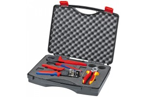 Чемодан Knipex 97 91 01, с инструментом для фотогальваники, KN-979101