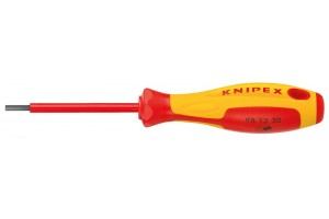 Отвертка Knipex 98 13 40, шестигранная, диэлектрический VDE 1000V, 4, 0 mm, KN-981340