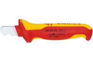 Нож Knipex 98 53 03, для снятия изоляции, диэлектрический VDE 1000V, 170 mm, KN-985303